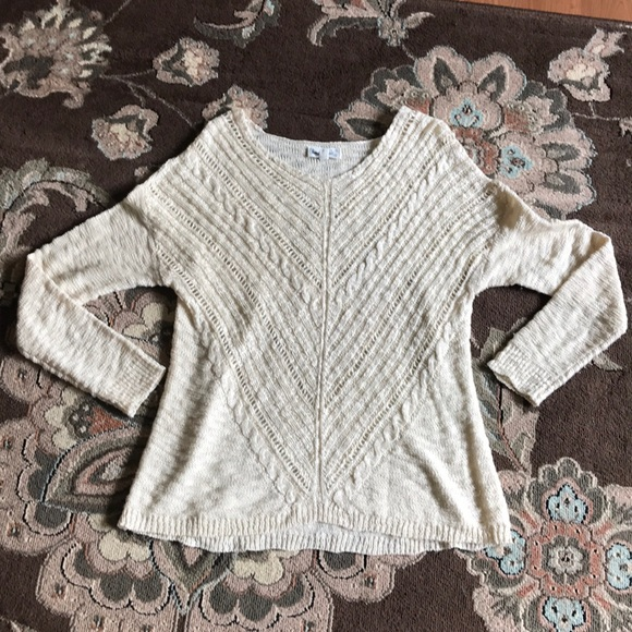 Cloud Chaser Sweaters - Cloud Chaser Cream Sweater
